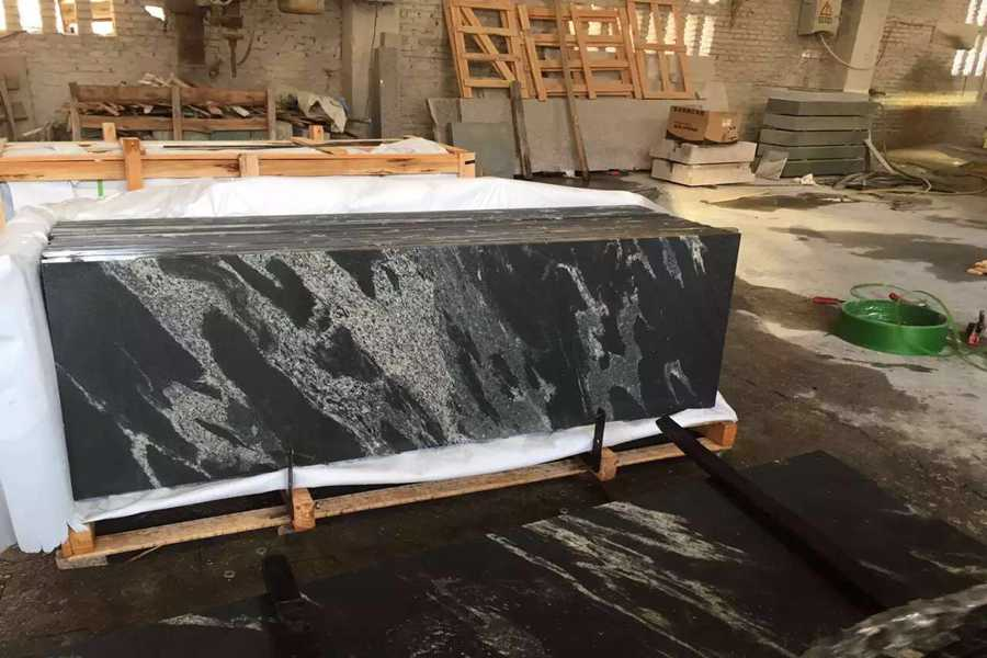 Jetmist granite countertop