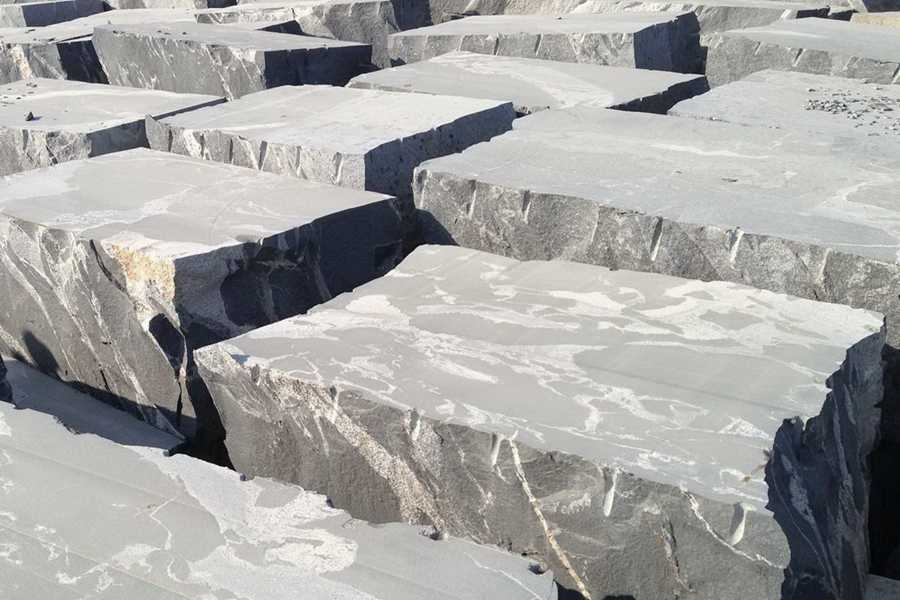 Jet Mist Granite Blocks